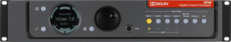 Dolby Digital Cinema Processor CP750 – Eugenetek Corporation